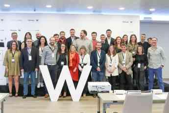 Los directores de las Clínicas W posan en la III Reunión Anual de la red.