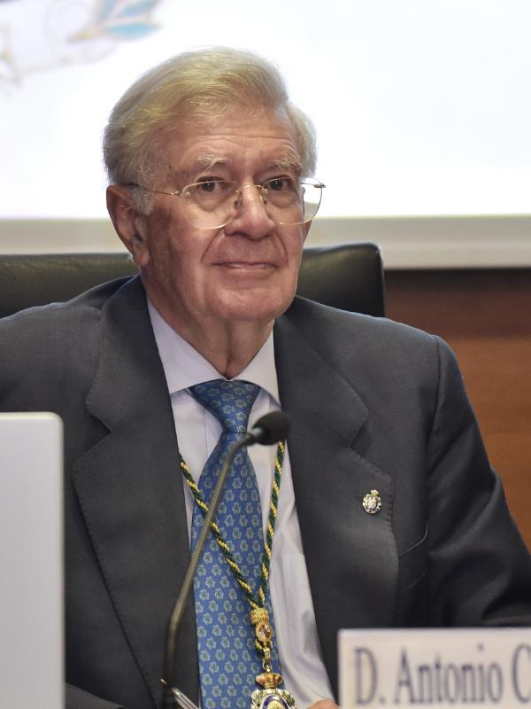 Fotografia Antonio Colino, nuevo presidente de la Real Academia de