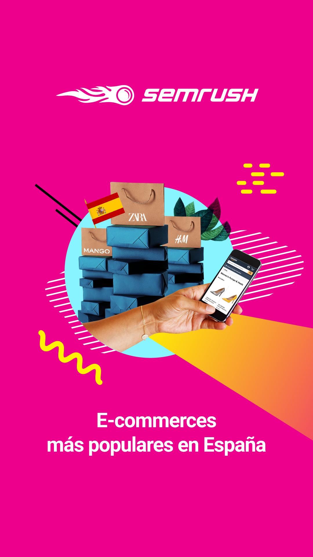 Foto de E-commerces más populares en España