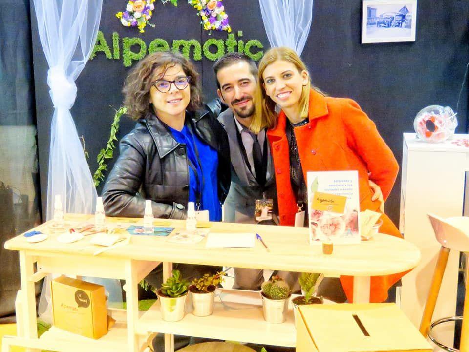 Fotografia Franquiciados Alpematic en la Feria Vigo-Bodas
