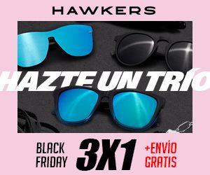 Foto de Ejemplo campaña de comunicación de Hawkers para el Black