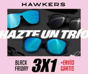 Ejemplo campaña de comunicación de Hawkers para el Black Friday