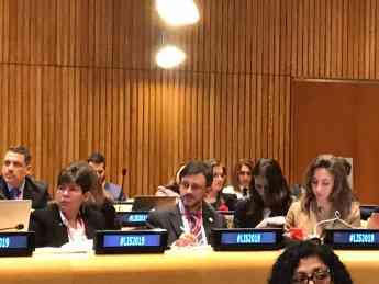 José Mª López, en la Cumbre Latino Impact Summit de la ONU