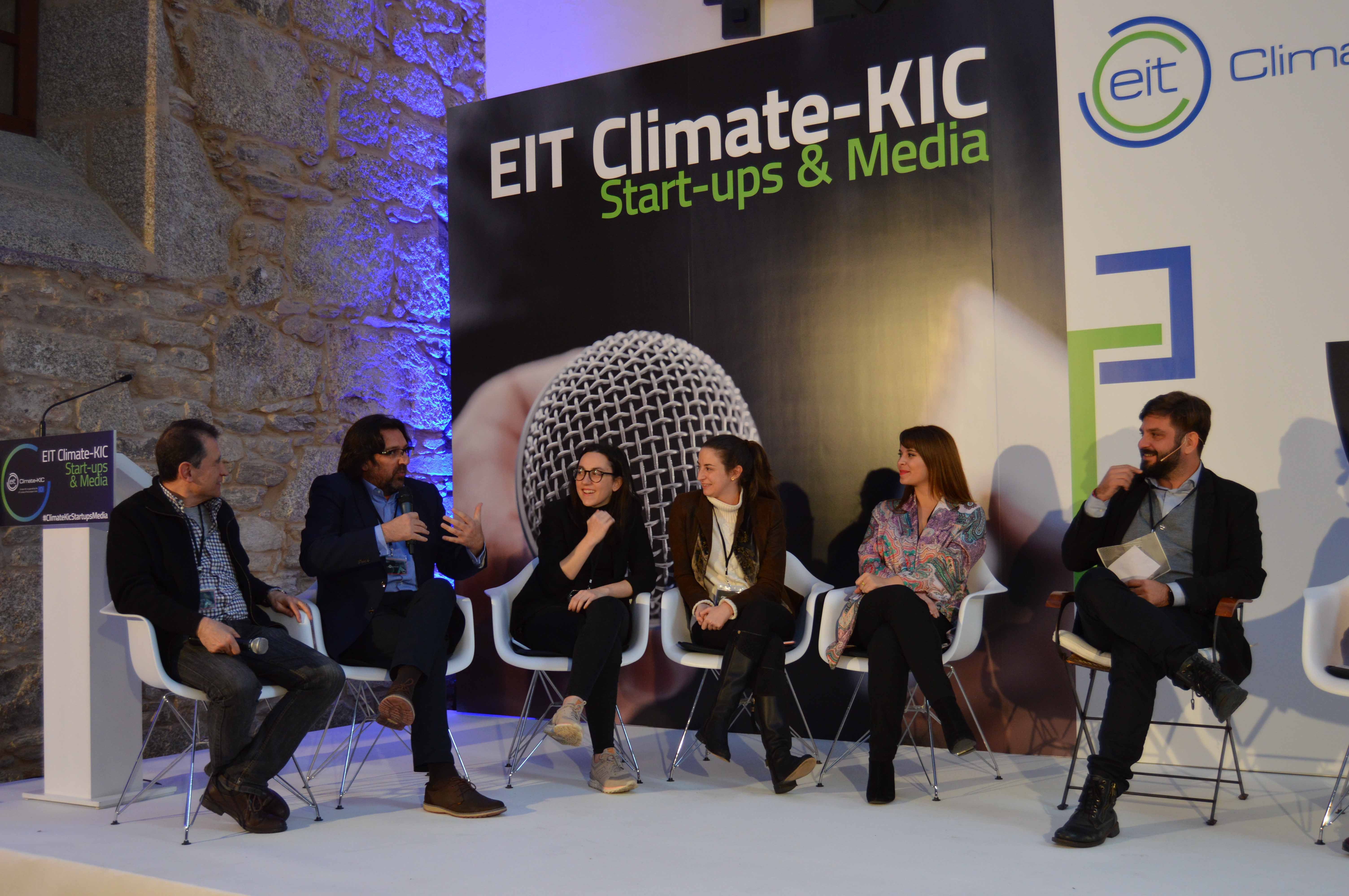 Foto de EIT Climate-KIC Startups & Media en su edición en Santiago