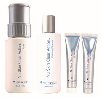 Clear Action System de Nu Skin