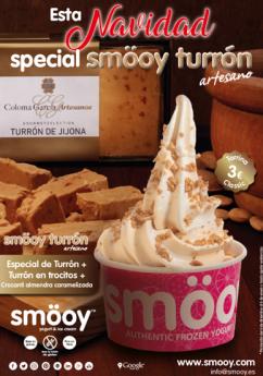 Smöoy celebra la Navidad con la nueva tarrina Classic Special Turrón y con toppings exclusivos