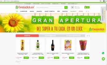 Cestaclick.es el nuevo supermercado online con entrega en 24 horas a toda la España Peninsular