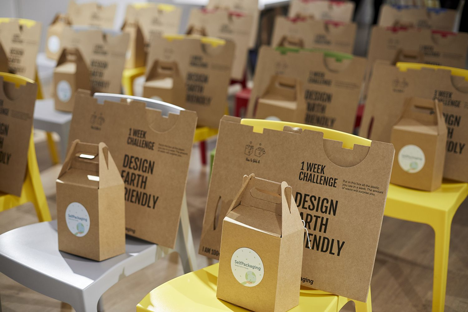 XMAS Challenge de Selfpackaging: Un evento Eco-Friendly