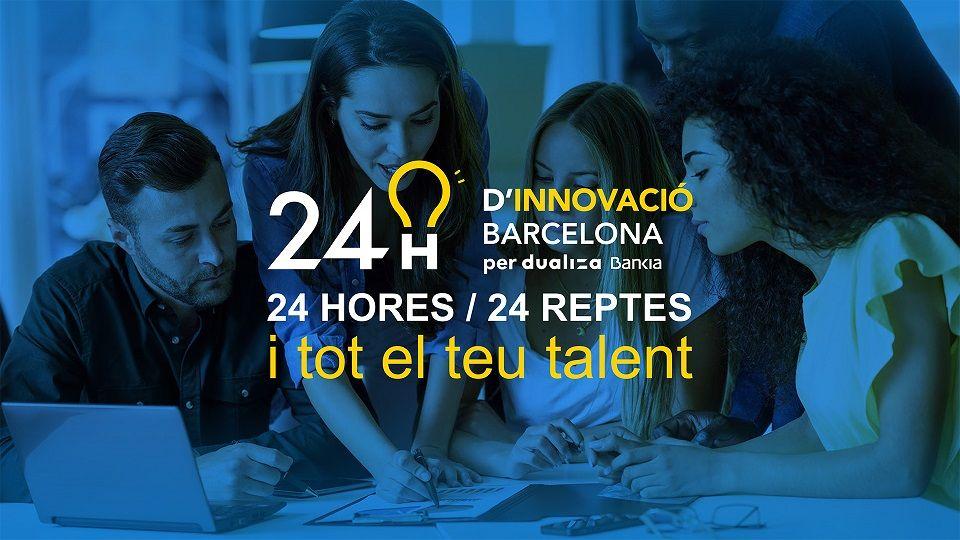 24 horas, 24 retos de 24 empresas en la 1a hackathon de la Generalitat y Dualiza Bankia para impulsar la FP