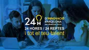 Cartel 24h Innovació Barcelona