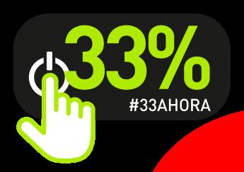 Foto de Logo #33AHORA