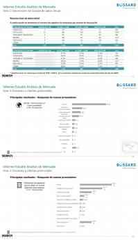 Fases estudio Análisis de mercado Bossard