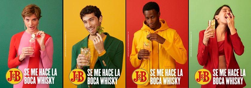 Fotografia Con J&B se te hará la boca…¡whisky!