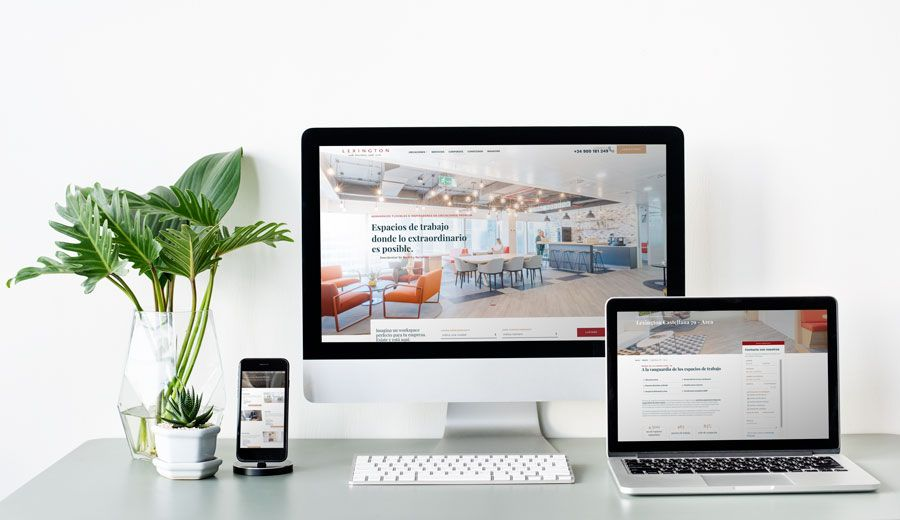 Lexington lanza su nuevo portal web