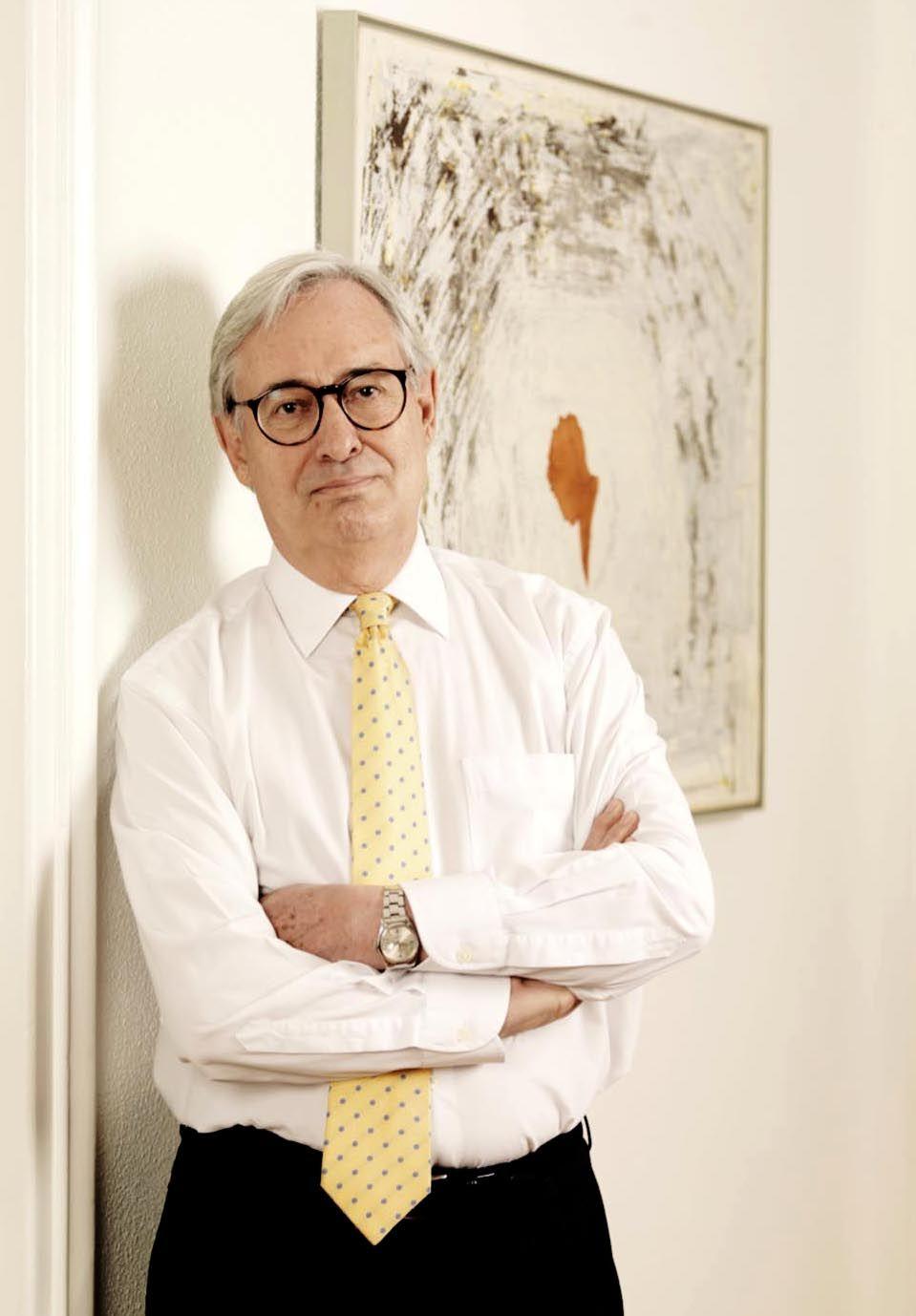 Antonio Garriges Walker y Luis Solana Premios Jean Bapstite Say a la Excelencia Empresarial a la trayectoria profesional