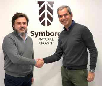 Jesús Juárez, CEO de Symborg junto con Enrique Fernández-Delgado Dr. General de Urdecon.