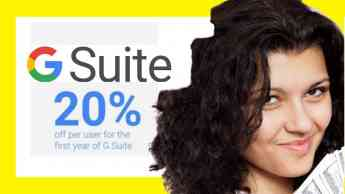 Foto de G Suite promo code