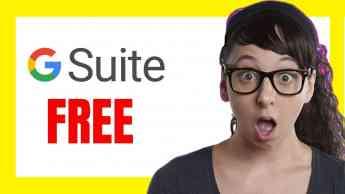 Foto de G Suite FREE