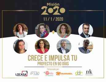 Evento en Madrid de Misión 2020