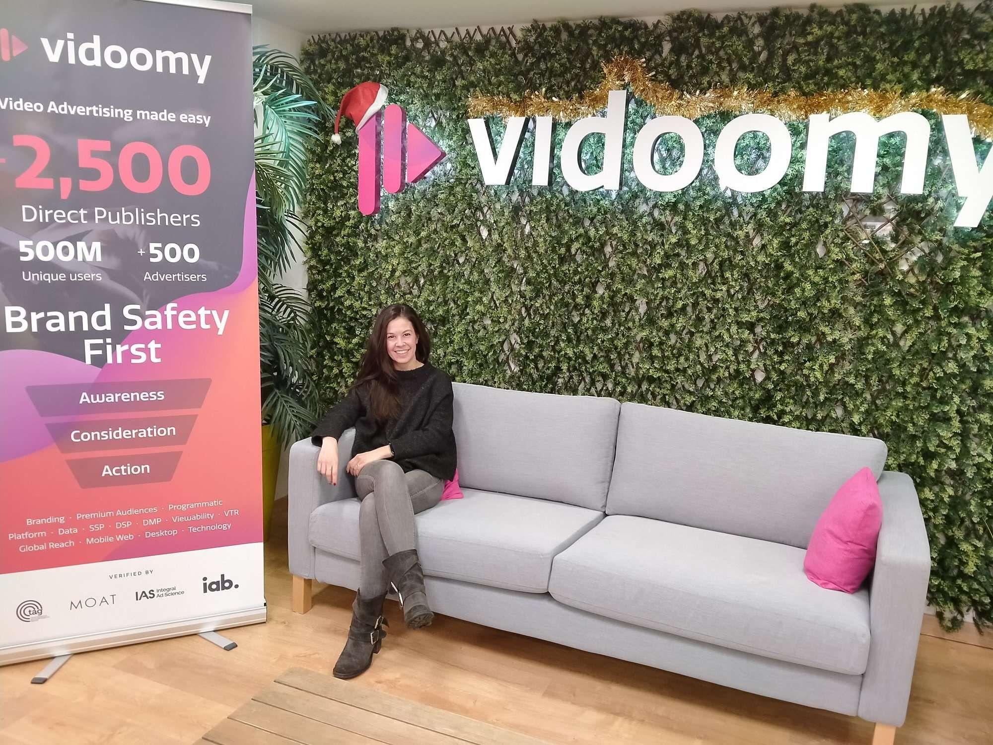 Arantxa Molinero se incorpora al equipo de publishers en Vidoomy