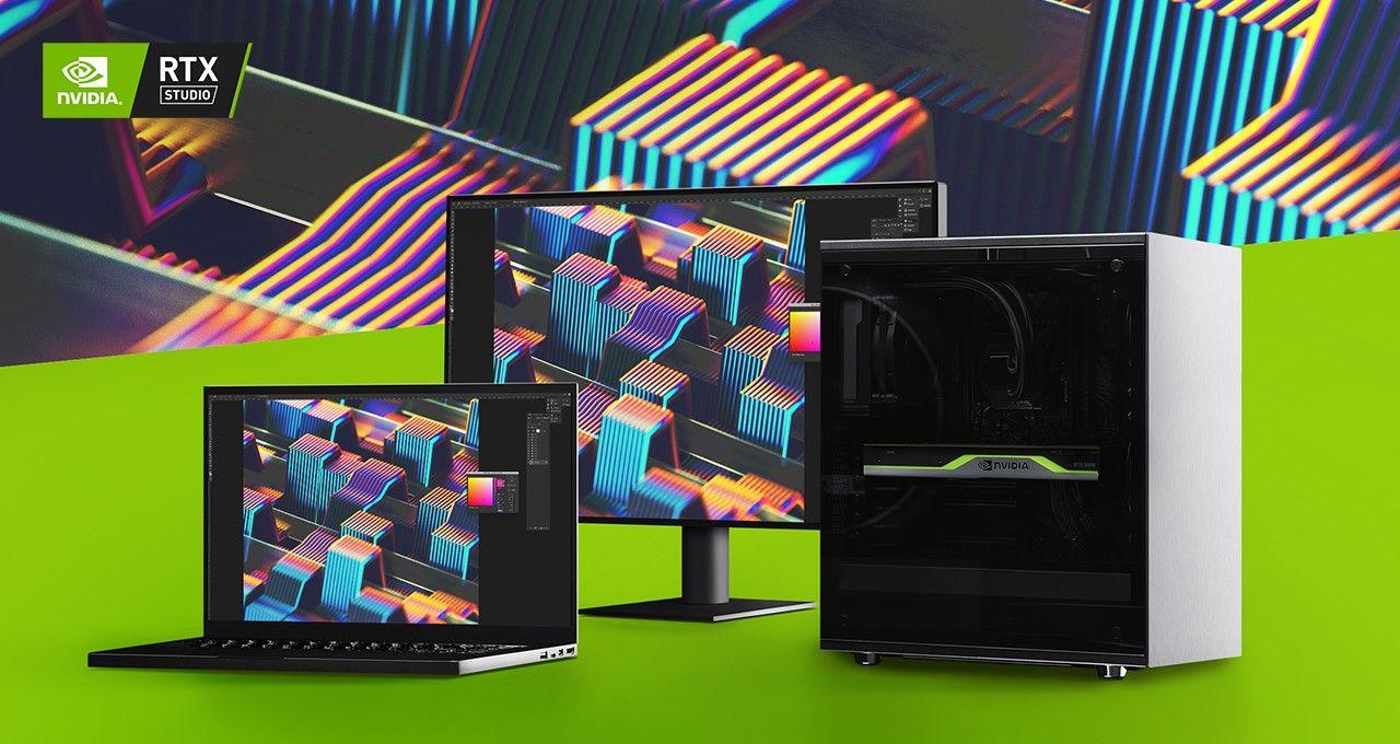CES 2020: NVIDIA presenta nuevos Sistemas Studio RTX y una oferta para Adobe Creative Cloud