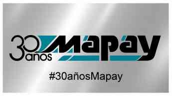 Logotipo conmemorativo Mapay