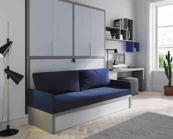 Sofá cama convertible
