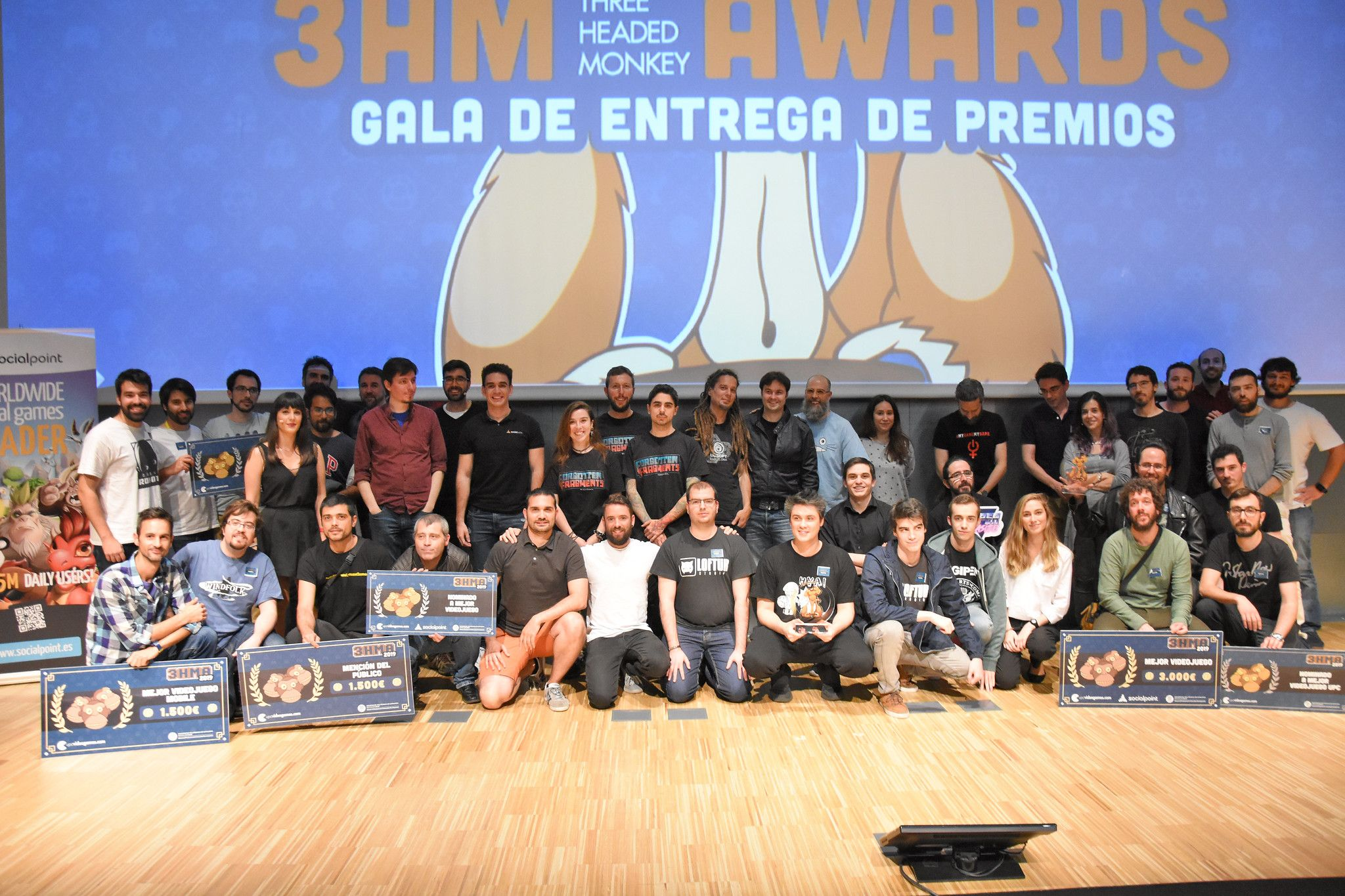 Fotografia Concurso de videojuegos Three Headed Monkey Awards
