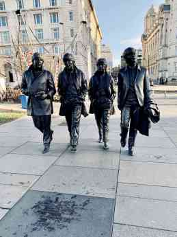 Foto de Estatua de The Beatles, en Liverpool
