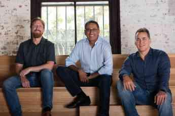 De izquierda a derecha, el cofundador y CTO de SiteMinder, Mike