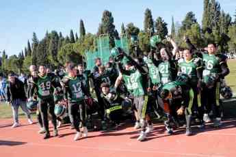 Potros Fuengirola, campeón VI Destina Bowl