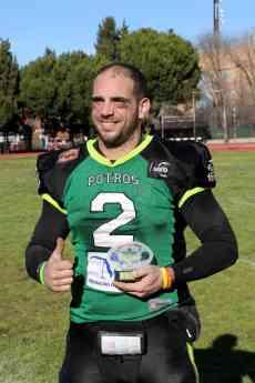 Foto de Carlos Chaves, MVP VI Destina Bowl