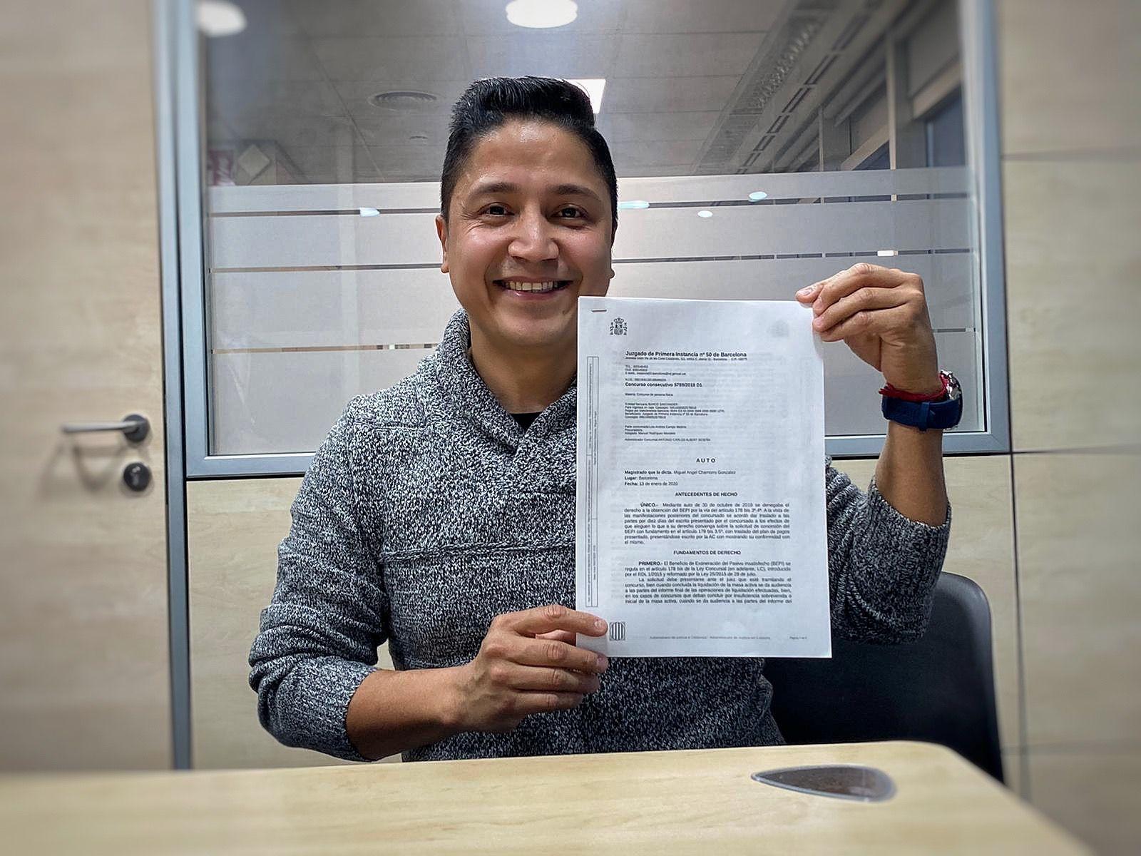 Repara tu deuda abogados cancelan 57.600 eur a un hombre de Barcelona con la Ley de la Segunda Oportunidad