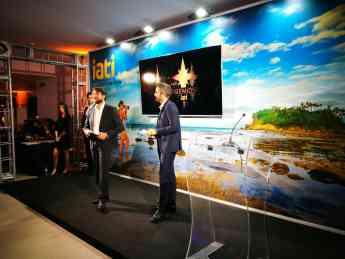 Foto de Presentadores de la gala de los Premios IATI