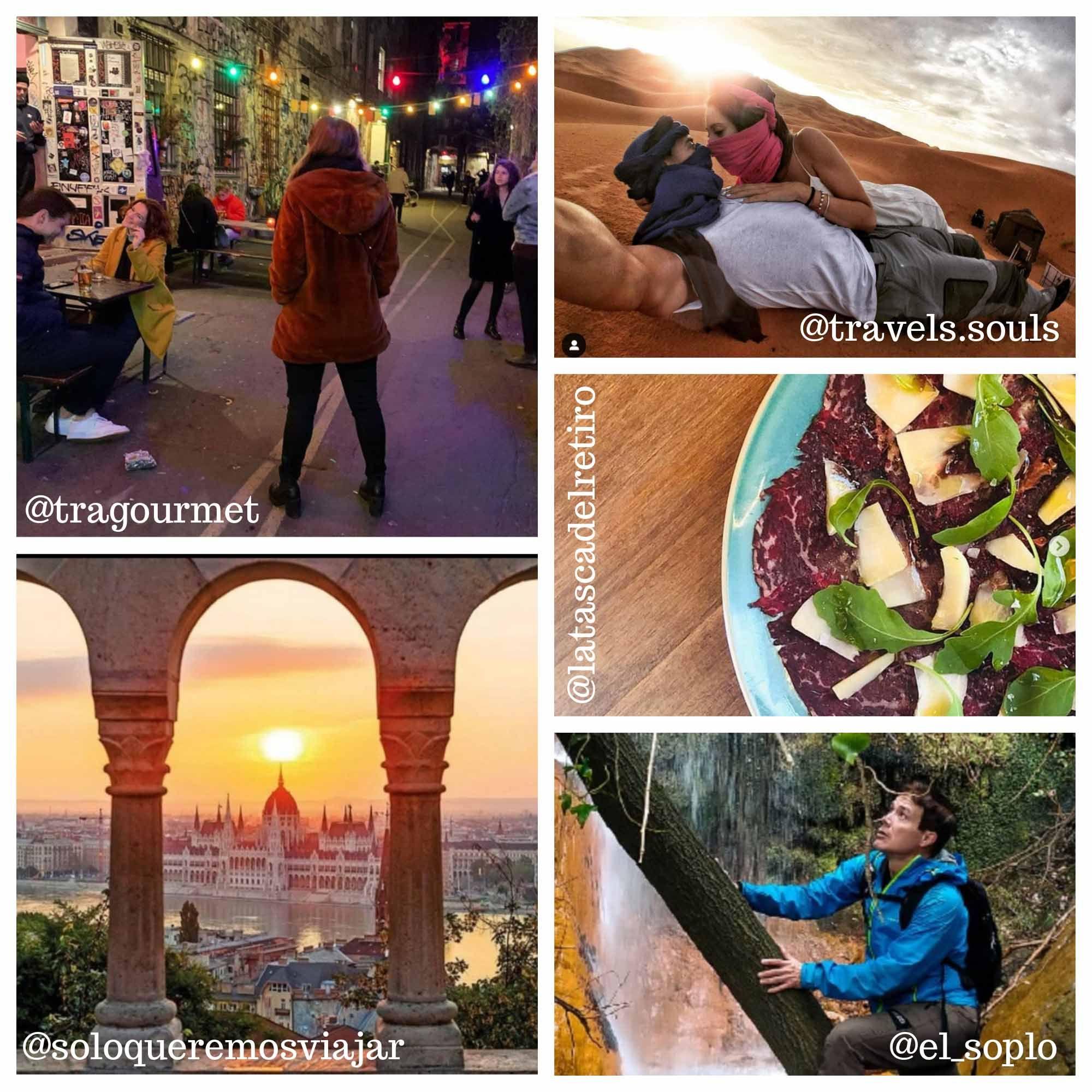Fotografia Influencers de viajes y gastronomía