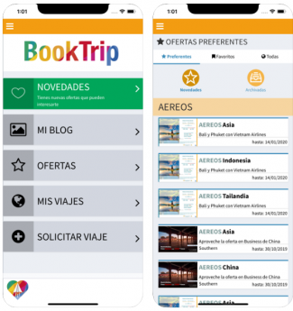 Noticias Software | booktrip app