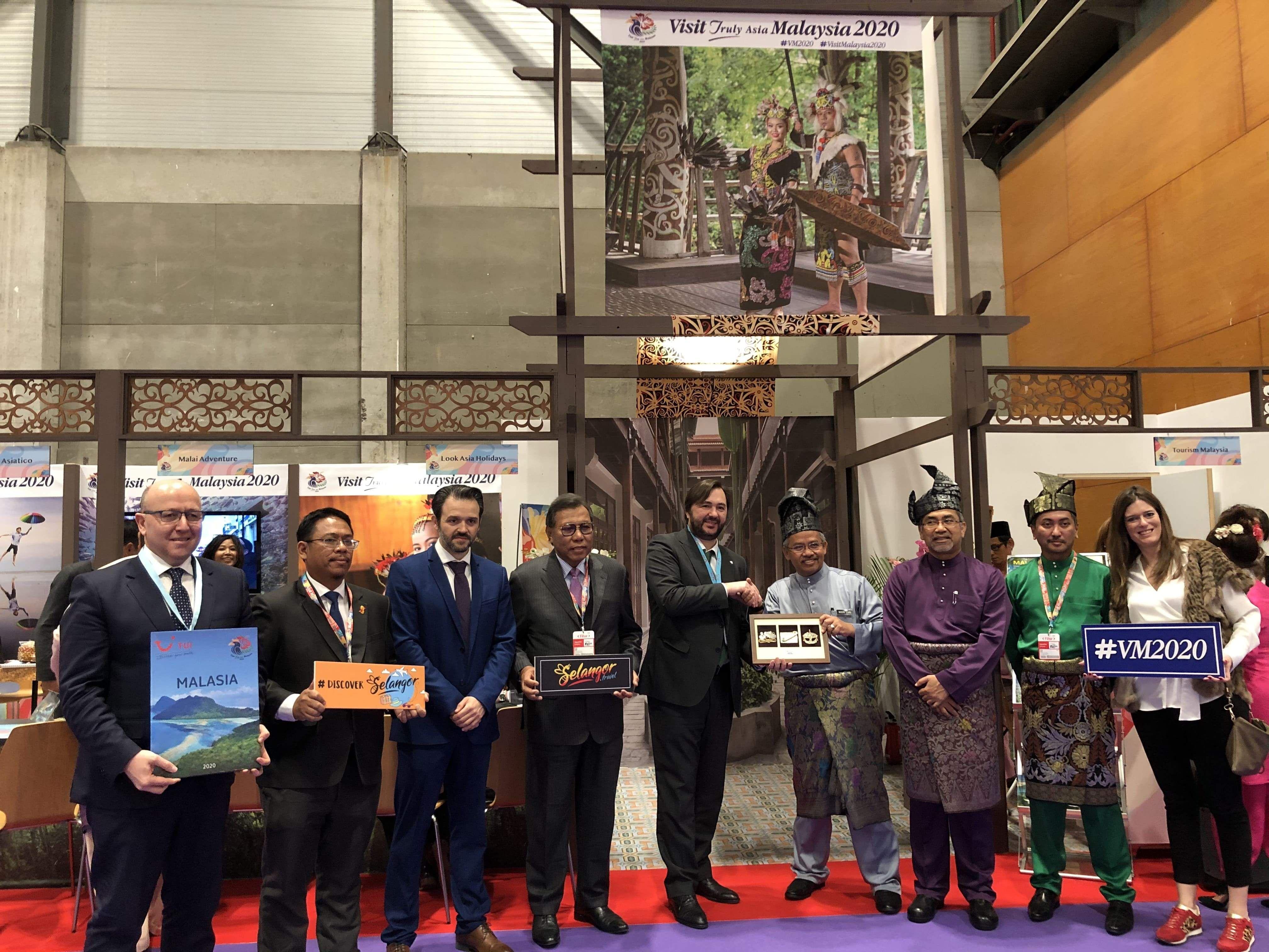 TUI y Malasia se unen para promocionar el destino en 2020