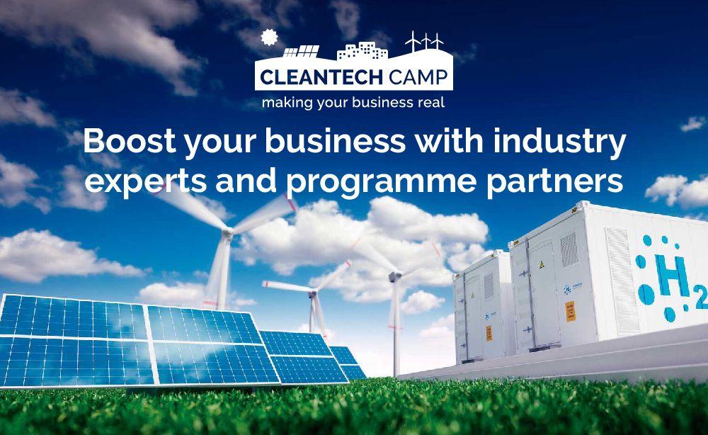 Cleantech Camp busca nuevos proyectos y startups para acelerar la transición energética en Europa