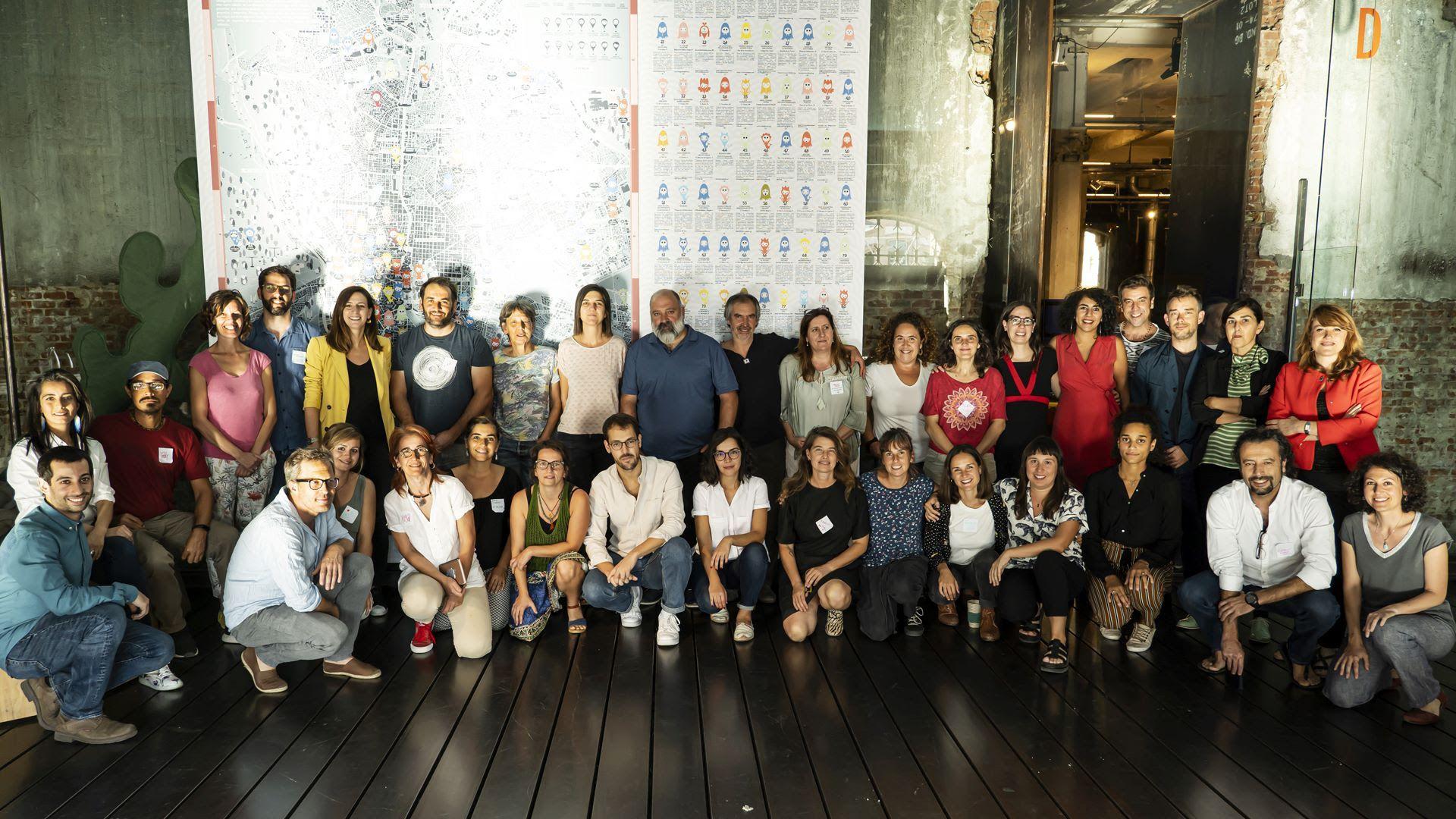 Foto de Miembros de la Fundación Daniel y Nina Carasso posan junto a