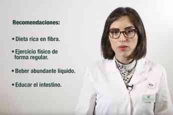 Lierni Mendiaraz, farmacéutica guipuzcoana protagoniza el vídeoconsejo del COFG sobre estreñimiento.