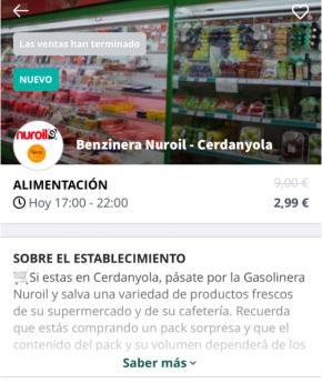 Too Good to Go y el Grupo Sabater Nuri colaboran para evitar el desperdicio de alimentos
