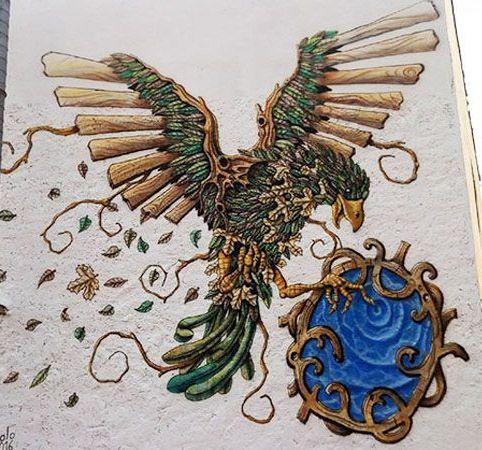 Foto de Mural decorativo de pájaro