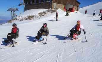 Esquí adaptado Fundación Deporte y Desafío