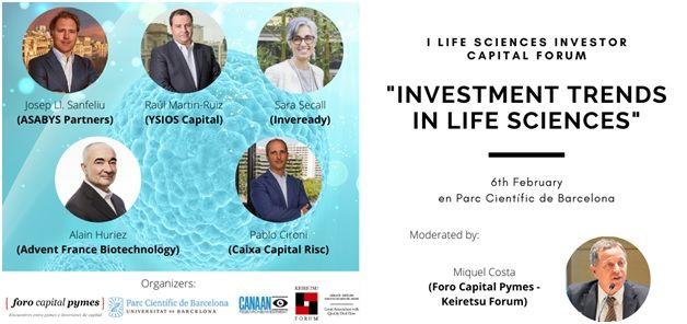 Inversores buscan proyectos biotech y Life Sciences