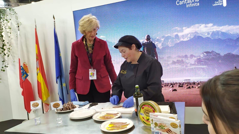 Conservas Emilia llega a Fitur de la mano de Cantabria