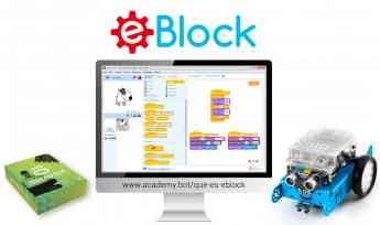 Noticias Robótica | Nace eBlock, aplicación basada en mBlock 3.4