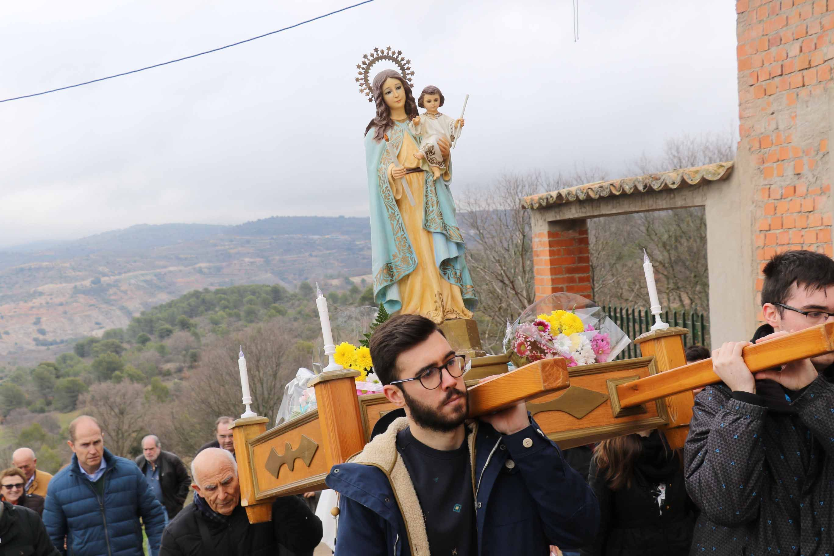 Tabladillo ha celebrado su fiesta patronal en honor a la Virgen de las Candelas