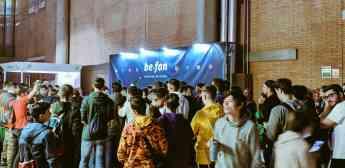 Noticias Madrid | Éxito en el stand de Be.fan