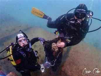 Foto de Limpieza de fondo marino en Barcelona