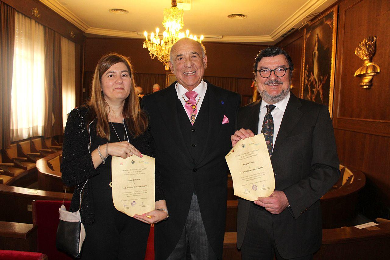 Foto de Entrega de las becas.